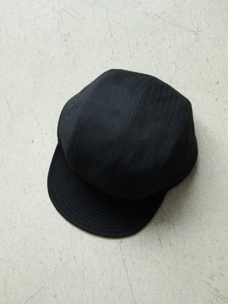 SOLARIS HATMAKERS & Co. | ソラリス HELLCAT / AVIATOR CAP #BLACK