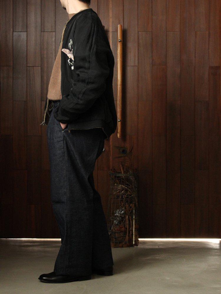 CRUSH VELVET SOUVENIR JACKET #DUNE×BLACK