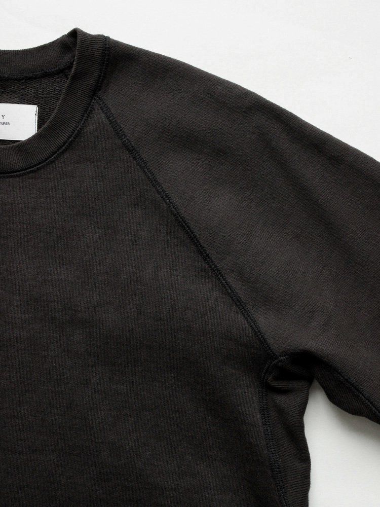 CURLY | カーリー FROSTED CREW SWEAT #BLACK