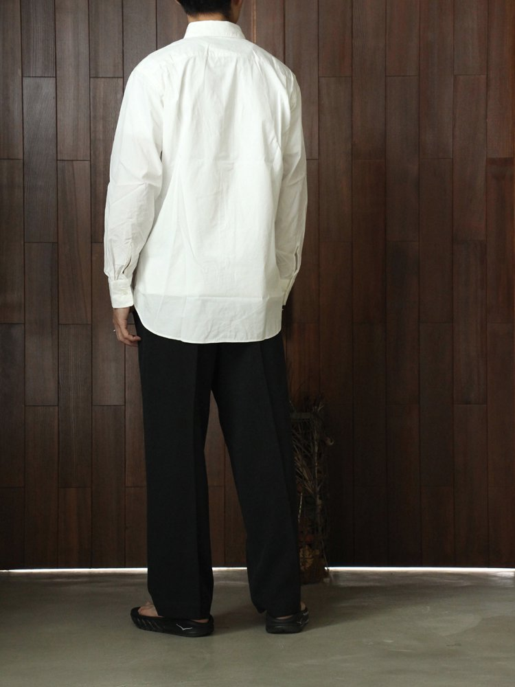 MARKAWARE | マーカウェア PERMANENT SHIRTS LOOSE-FIT #WHITE