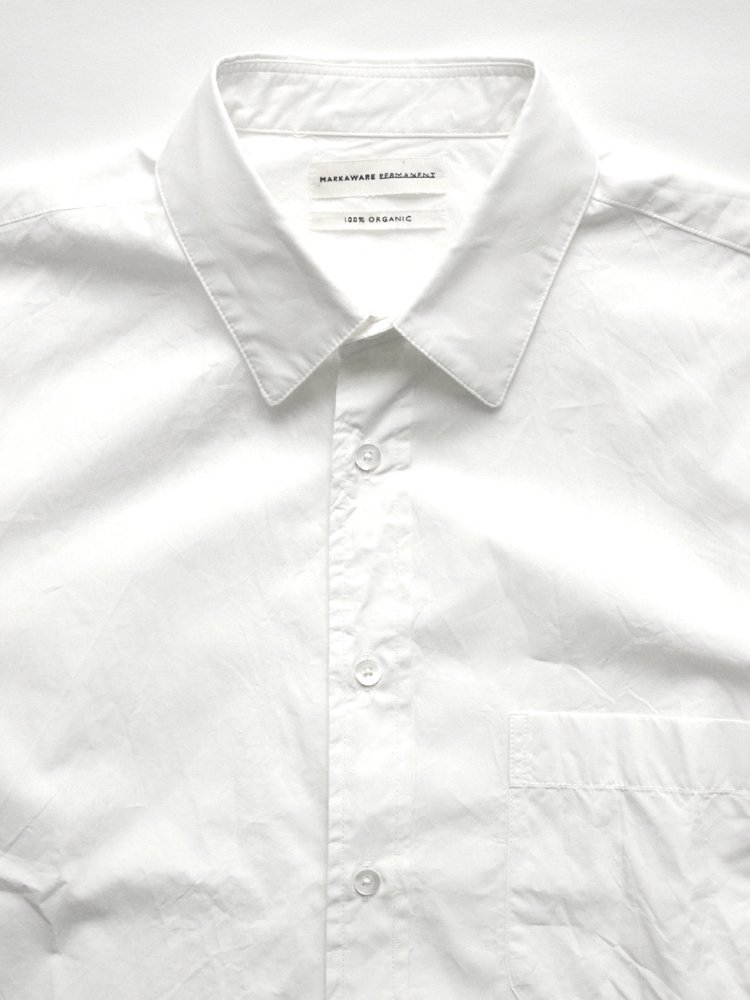 PERMANENT SHIRTS LOOSE-FIT #WHITE
