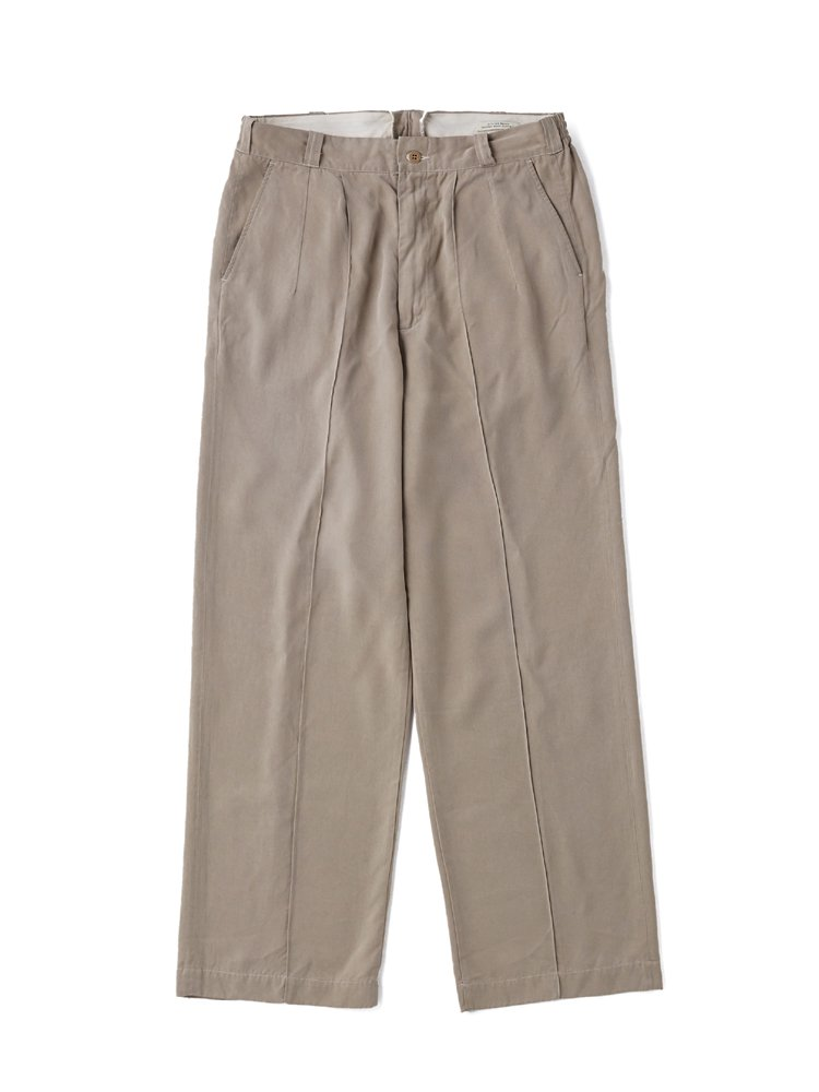 OLD JOE BRAND|FRONT TUCK ARMY TROUSER #MIST