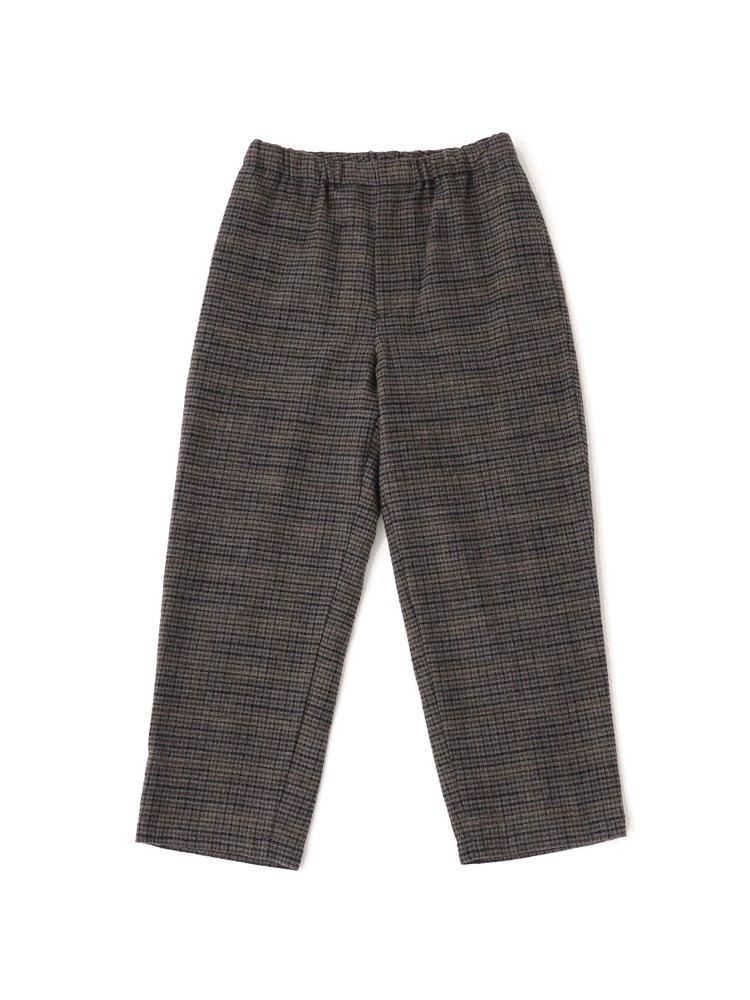 Phlannel|Cotton Flannel Easy Trouser #Check