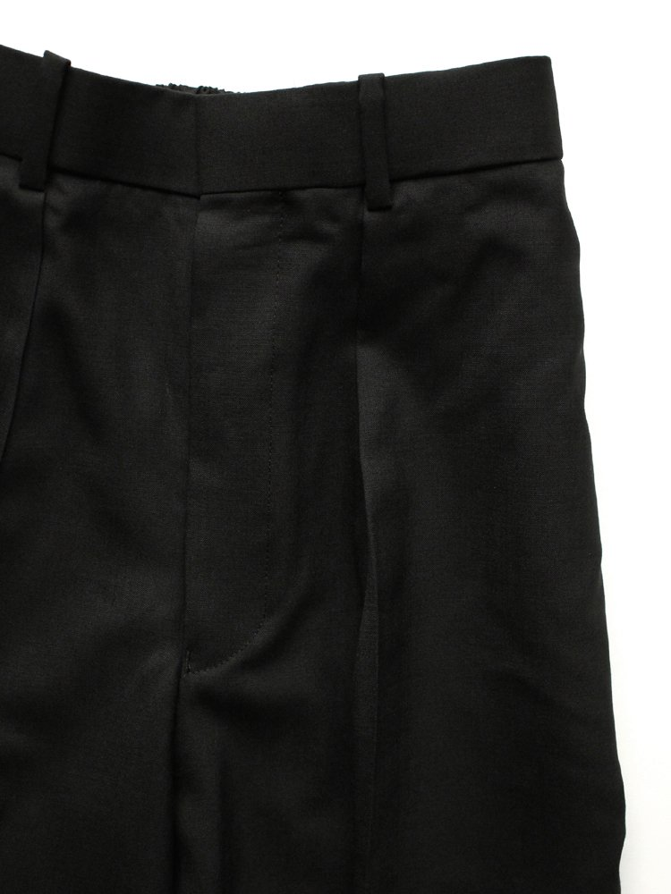 CLASSIC FIT TROUSERS #BLACK