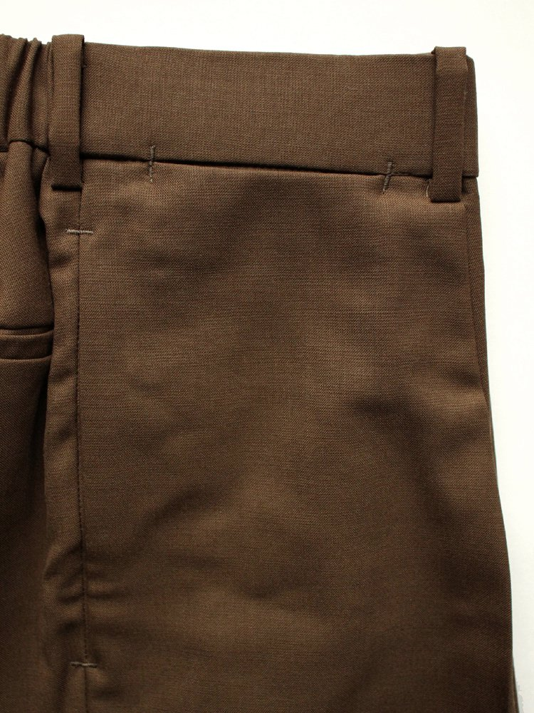 CLASSIC FIT TROUSERS #OLIVE BROWN