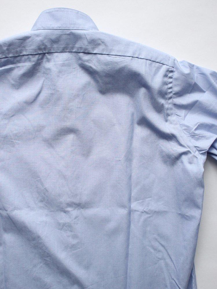 BAND COLLAR SHIRTS #BLUE
