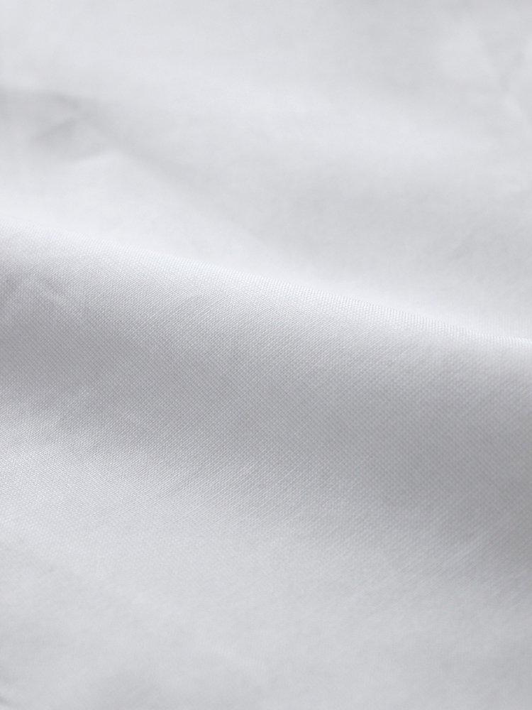 BAND COLLAR SHIRTS #WHITE