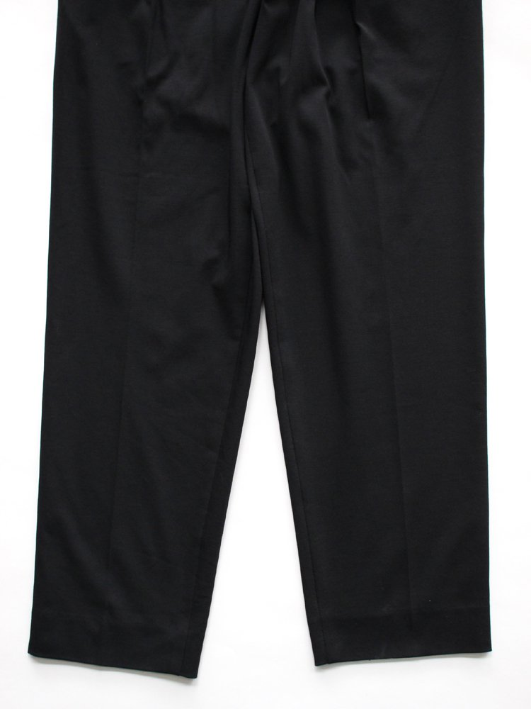 PEGTOP EASY TROUSERS #BLACK