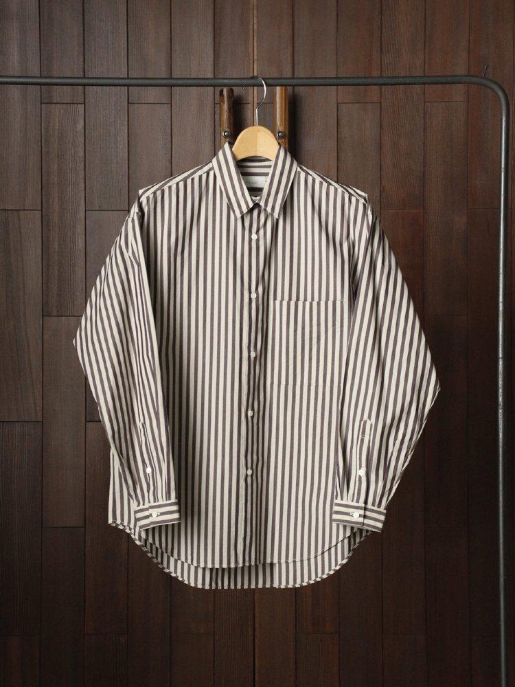Phlannel Regular Collar Over Shirt #Stripe