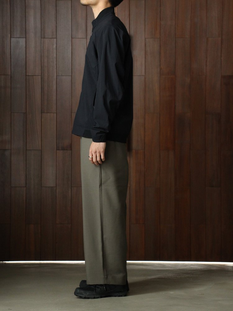 EASY WIDE PANTS #OLIVE GRAY