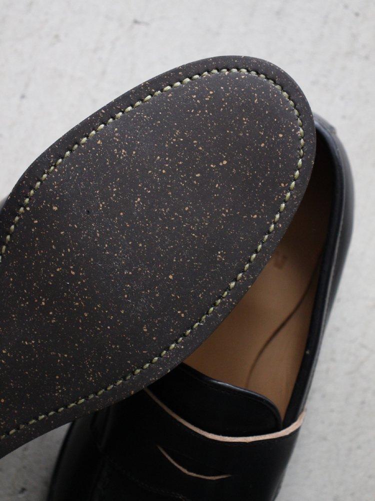 Coin loafer Chrome Excel 2502 #BLACK