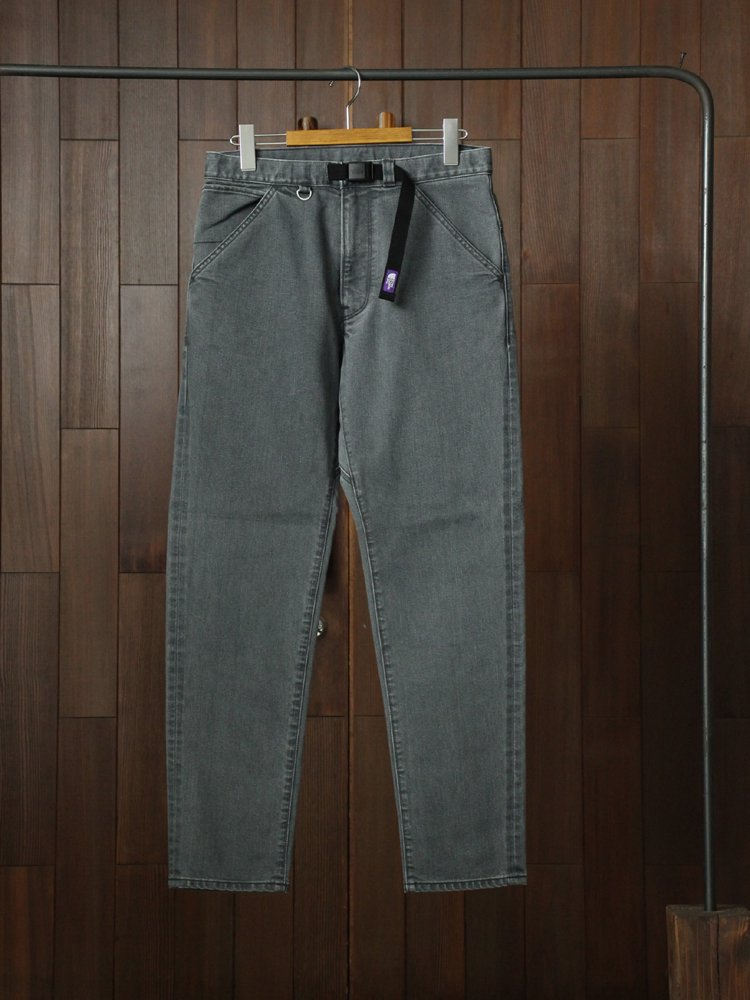 THE NORTH FACE PURPLE LABEL|Webbing Belt Denim Pants #Black Bleach