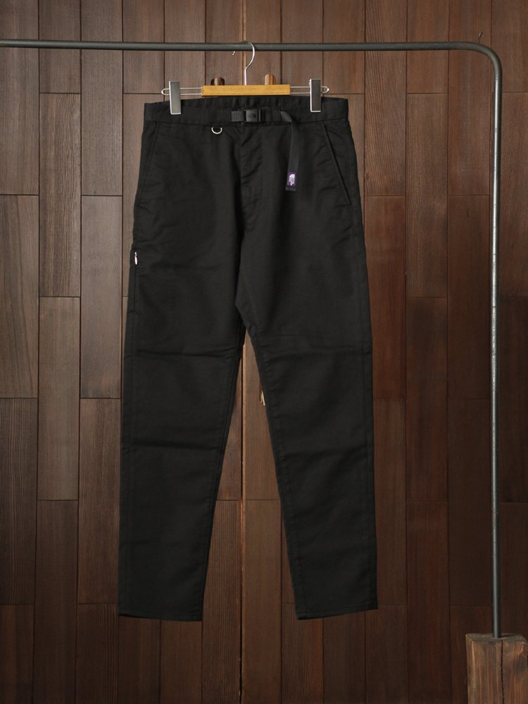 THE NORTH FACE PURPLE LABEL|Stretch Twill Tapered Pants #Black