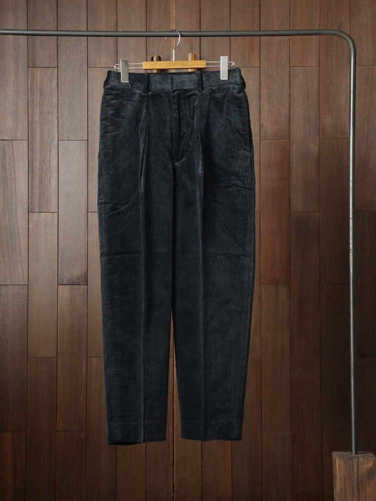 MARKAWARE|CLASSIC FIT TROUSERS #BLUE GRAY
