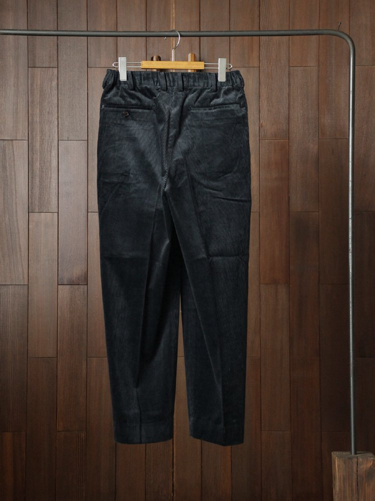 CLASSIC FIT TROUSERS #BLUE GRAY