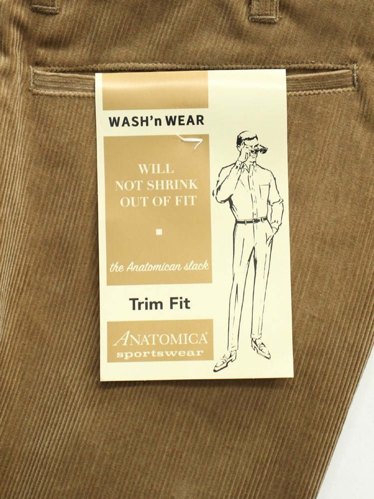 TRIM FIT UK CORDUROY #BEIGE