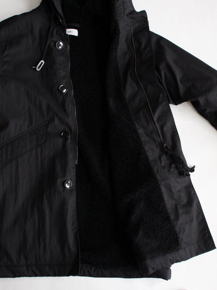 DECK PARKA #BLACK