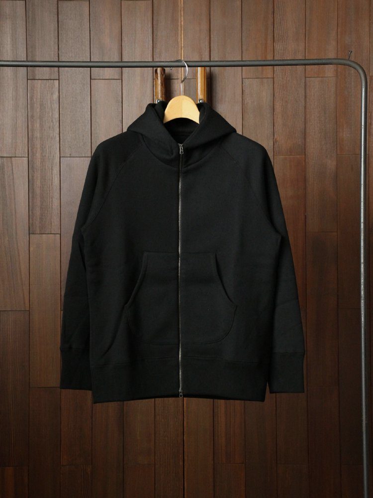 PRESTON ZIP PARKA #BLACK