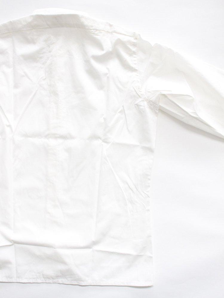 BAND COLLAR SHIRTS T.MASON #WHITE