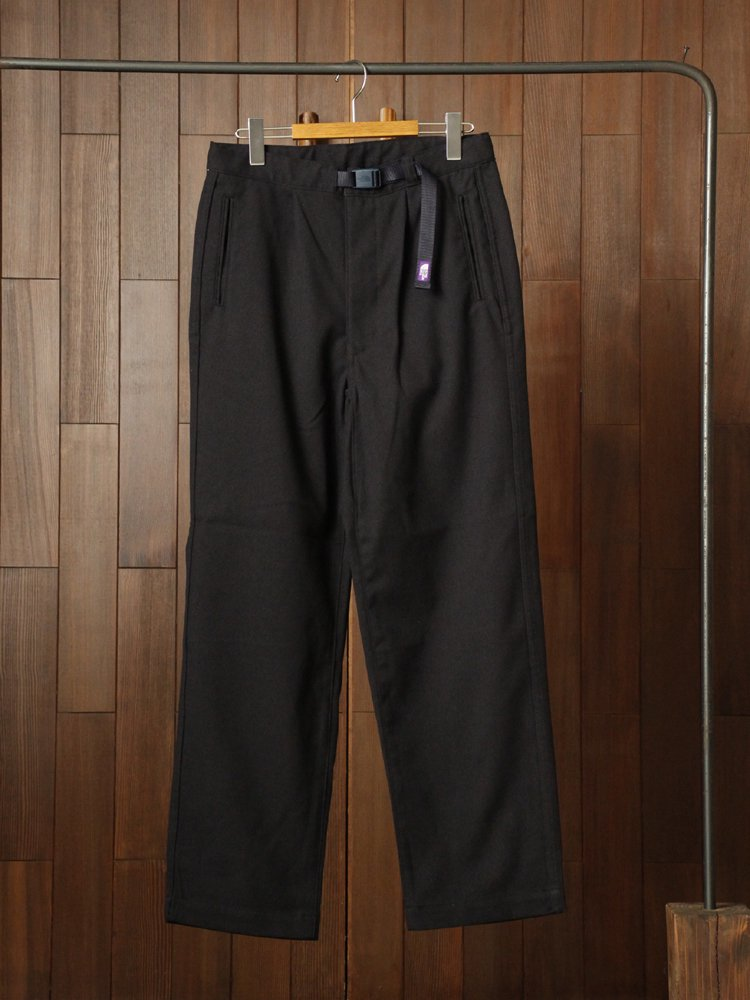Polyester Flannel Field Pants #Navy