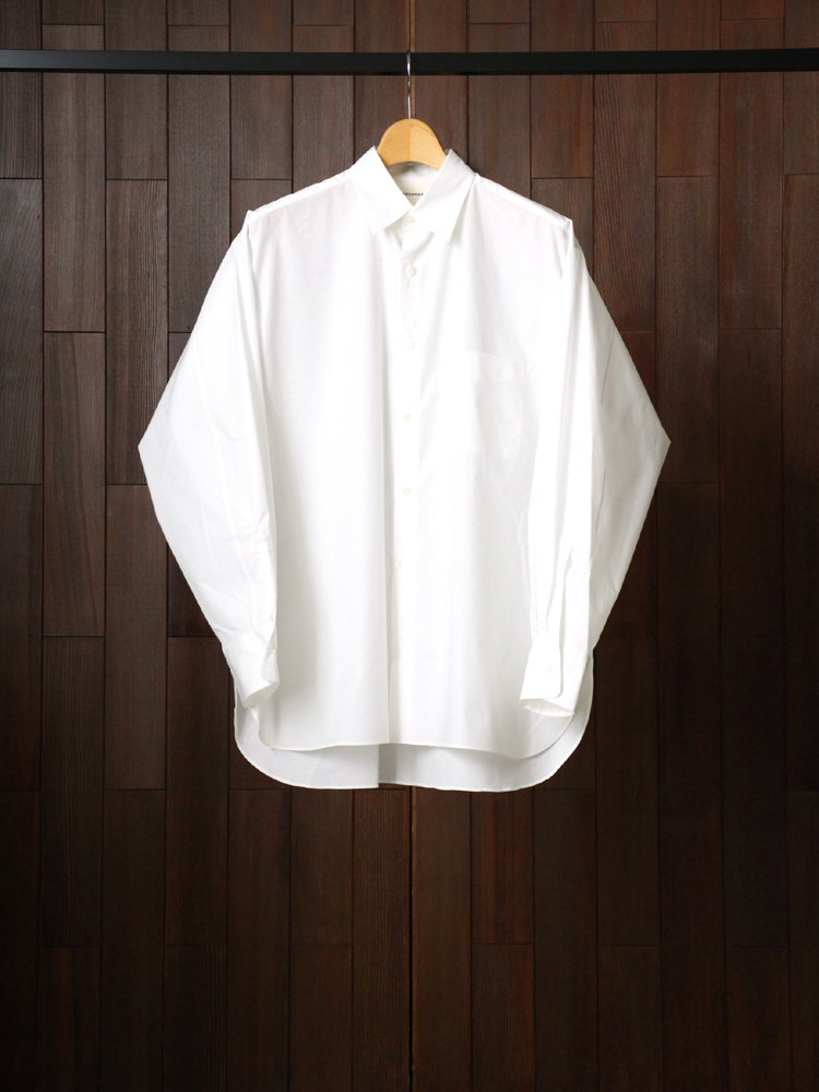 MARKAWARE|COMFORT FIT SHIRT #WHITE