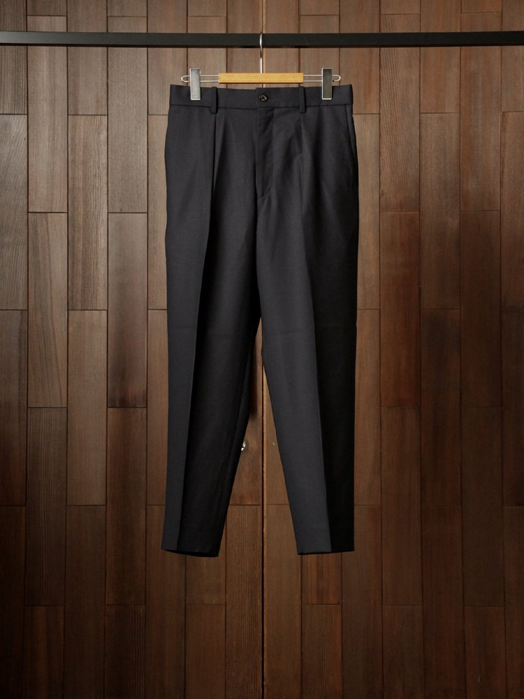 MARKAWARE|PEGTOP TROUSERS #NAVY