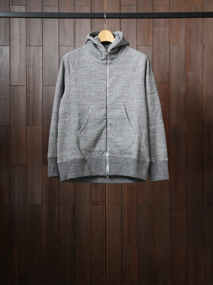 CURLY|RAFFY ZIP PARKA #CHARCOAL