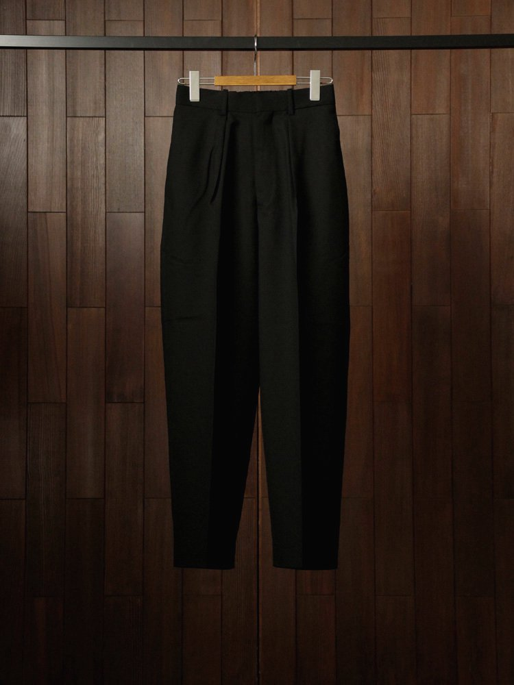 MARKAWARE|CLASSIC FIT TROUSERS #BLACK
