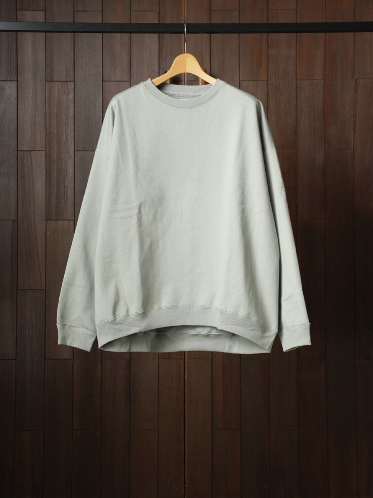MARKAWARE|HUGE SWEAT SHIRT #SAGE
