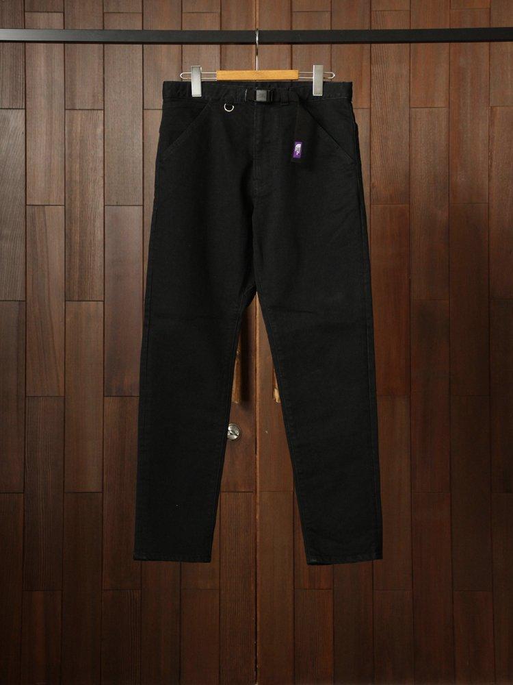 THE NORTH FACE PURPLE LABEL|Webbing Belt Denim Pants #Black