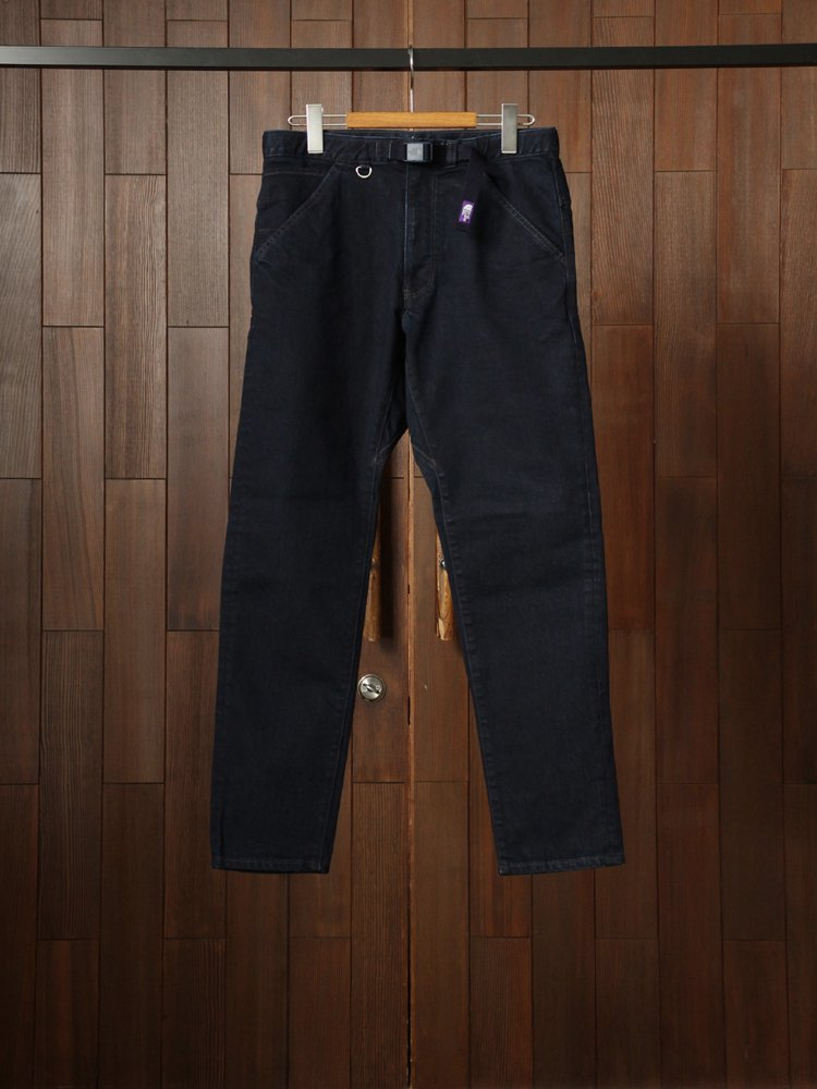 THE NORTH FACE PURPLE LABEL|Webbing Belt Denim Pants #Indigo Black