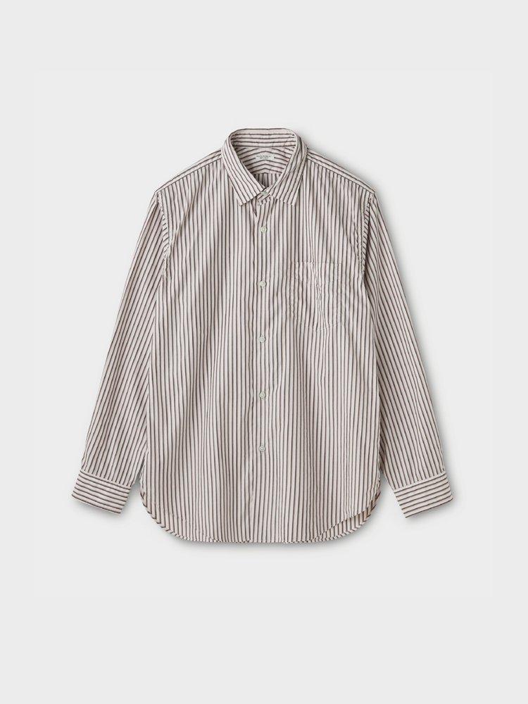 PHIGVEL MAKERS & Co.|REGULAR COLLAR DRESS SHIRT #STRIPE