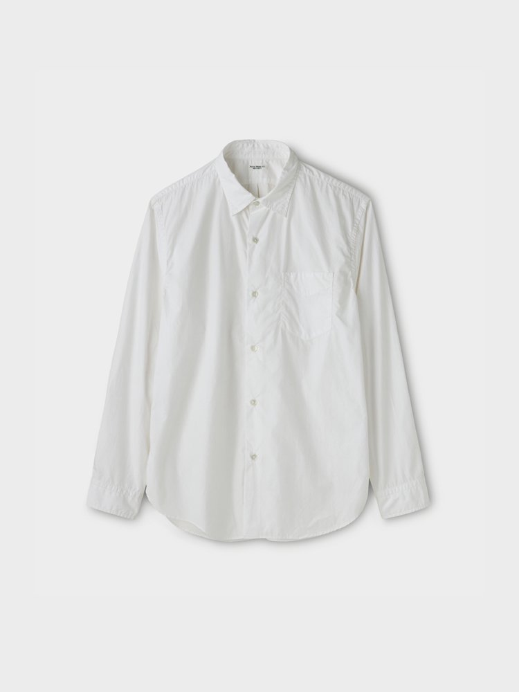 PHIGVEL MAKERS & Co.|REGULAR COLLAR DRESS SHIRT #OFF WHITE