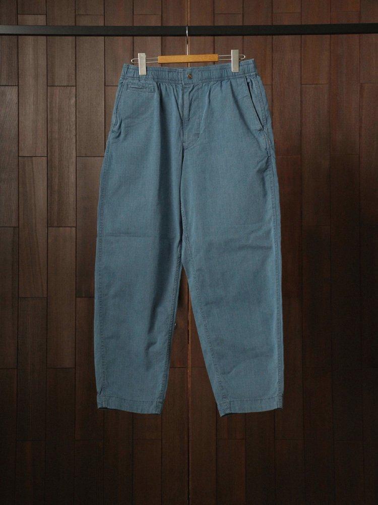 THE NORTH FACE PURPLE LABEL|Indigo Mountain Shirred Waist Pants #Indigo