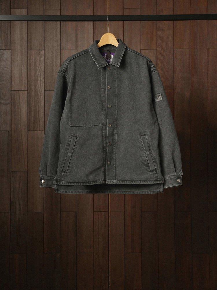 THE NORTH FACE PURPLE LABEL Denim Field Jacket #Black Bleach