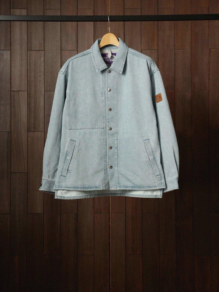 THE NORTH FACE PURPLE LABEL|Denim Field Jacket #Indigo Bleach
