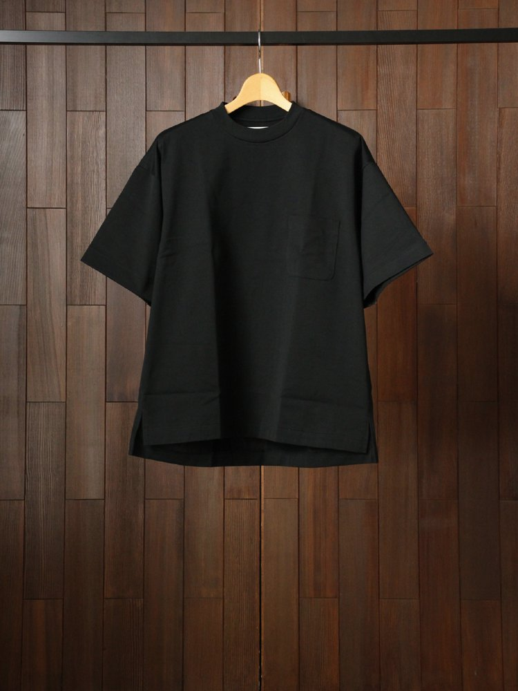 marka|POCKET TEE S/S #BLACK