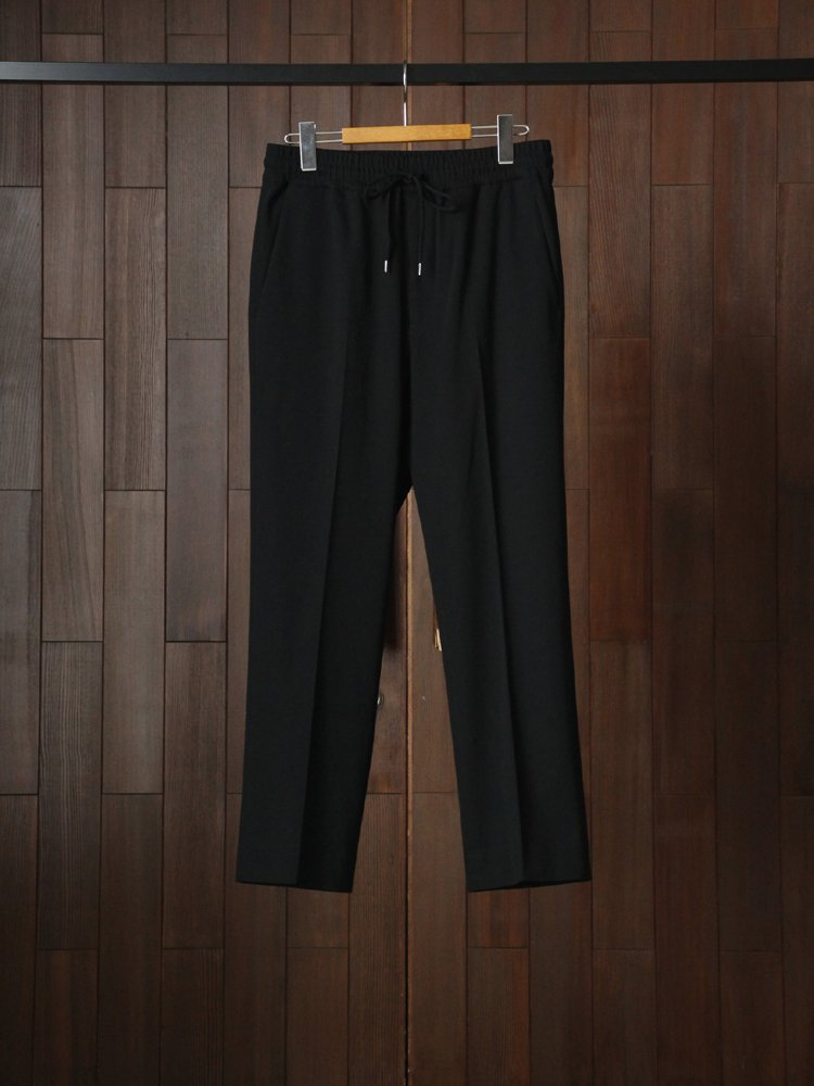 Text|Easy Trousers #Black