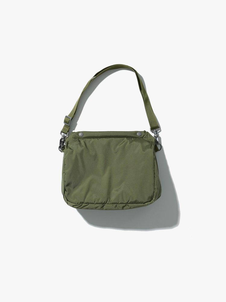 ANATOMICA|SMALL SHOULDER BAGMIDIUM US MIL NYLON #OLIVE