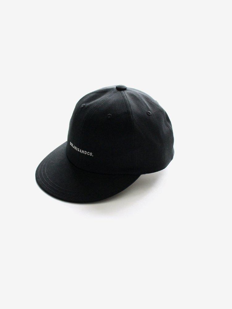SOLARIS HATMAKERS & Co. SPORTS CAP TOURIST #BLACK
