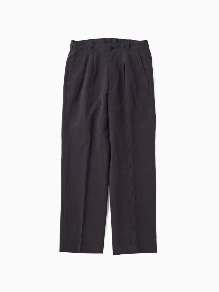 OLD JOE BRAND|FRONT TUCK ARMY TROUSER #GRAPHITE