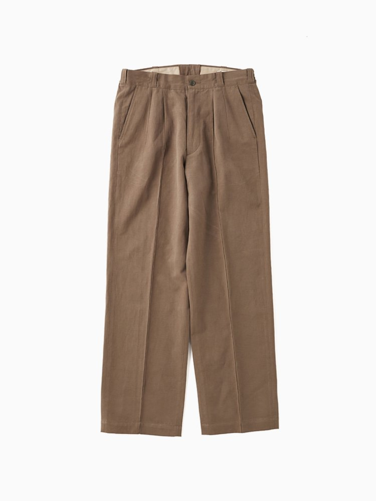 OLD JOE BRAND|FRONT TUCK ARMY TROUSER #VARECH