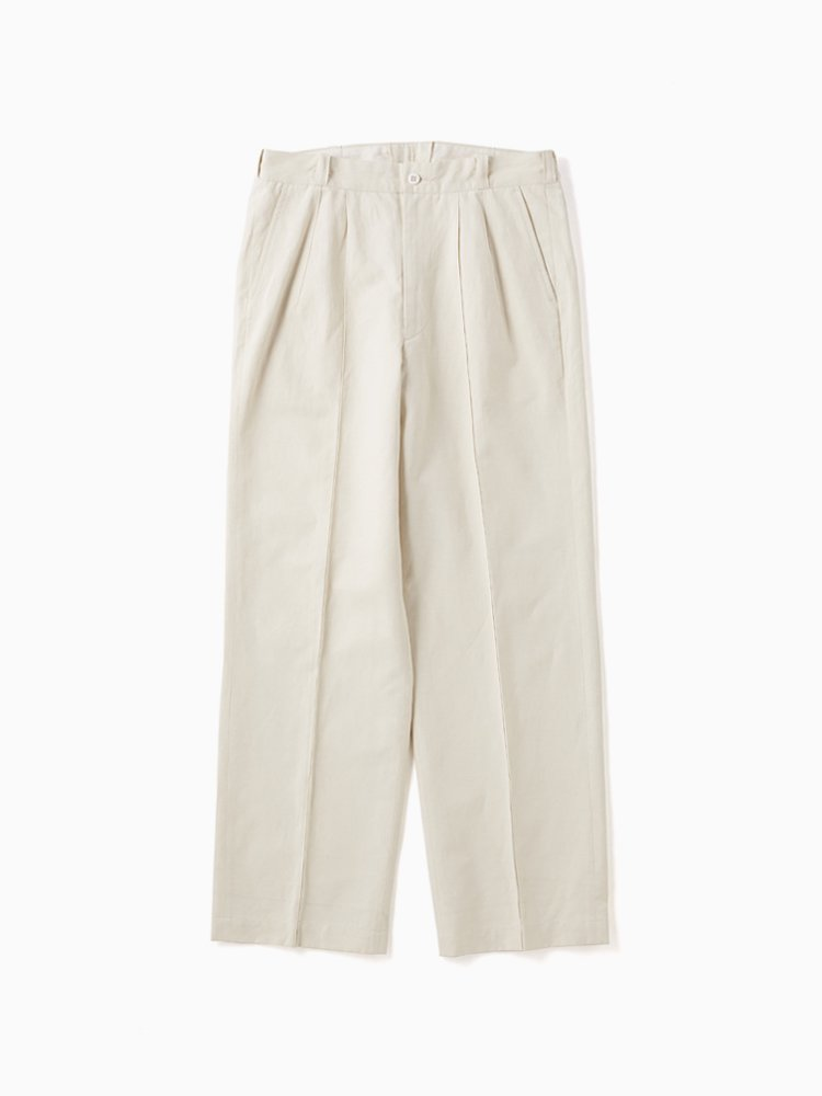 OLD JOE BRAND|FRONT TUCK ARMY TROUSER #NATURAL