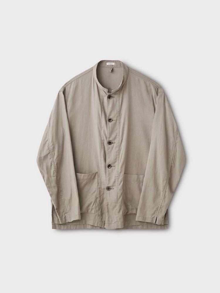 PHIGVEL MAKERS & Co.|RESORT LS SHIRT JACKET #TAUPE GRAY