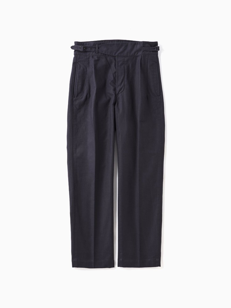 OLD JOE BRAND|SIDE BUCKLE GRUKHA TROUSER #GRAPHITE