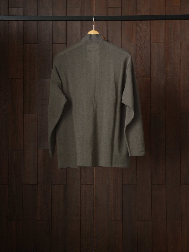 JAPANESE CARDIGAN #OLIVE METAL