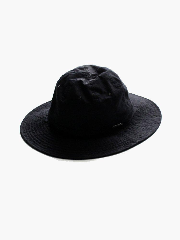 SOLARIS HATMAKERS & Co. TROPICAL HAT SANTAMARTA #BLACK