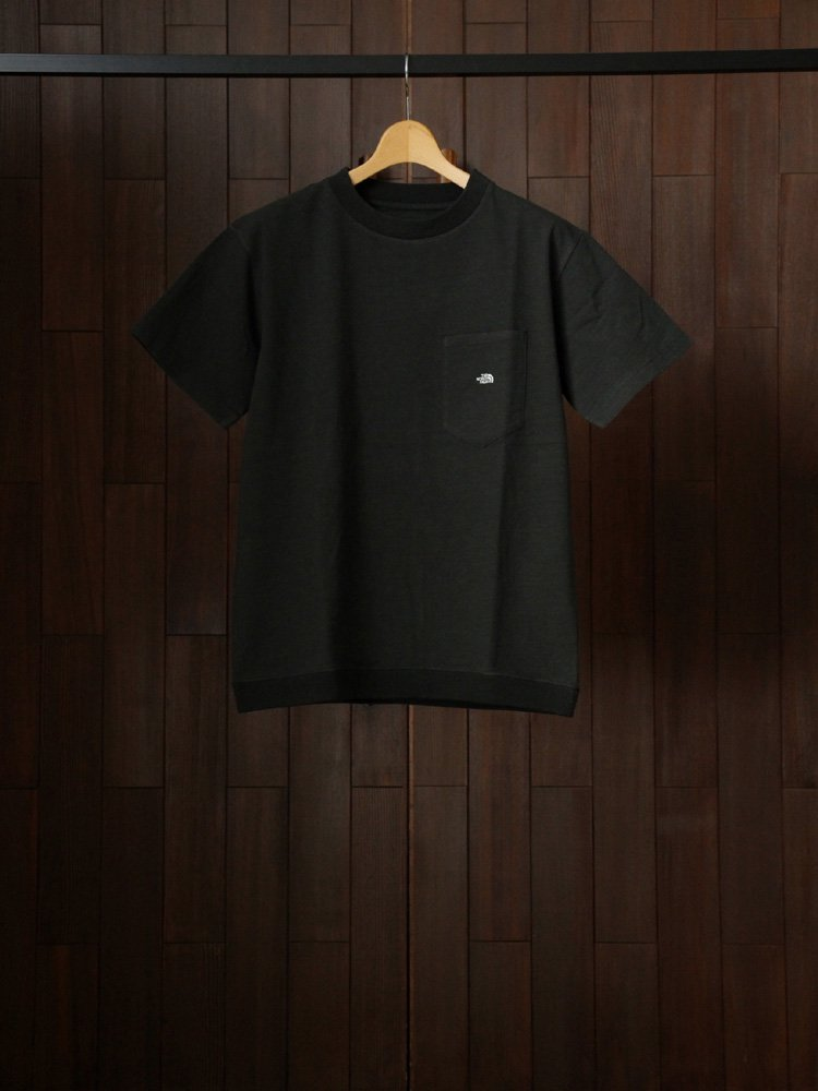 THE NORTH FACE PURPLE LABEL|High Bulky H/S Pocket Tee #Chacoal