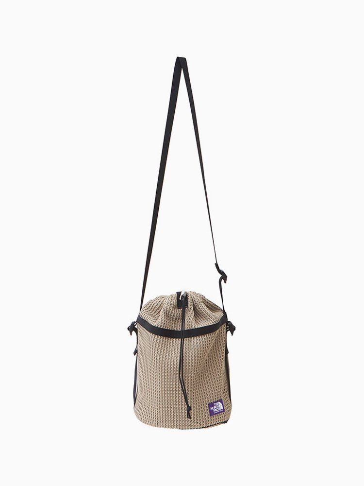 THE NORTH FACE PURPLE LABEL|Mesh Bucket Shoulder Bag #Beige