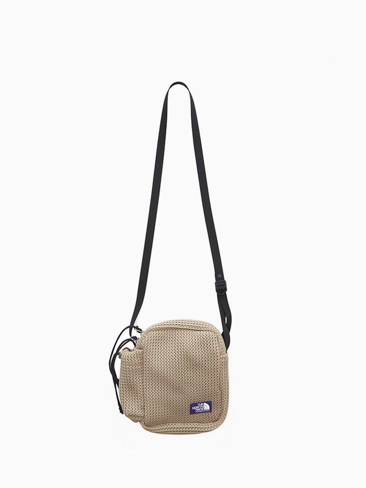 THE NORTH FACE PURPLE LABEL|Mesh Shoulder Bag #Beige